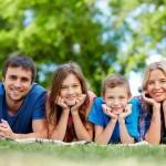 Папа, мама, я – счастливая семья